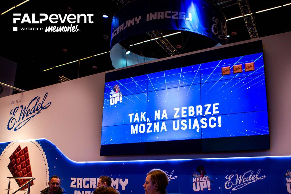 Wypożyczalnia, wynajem ekranów led, ekranów bezszwowych, telewizorów, Katowice, Śląsk